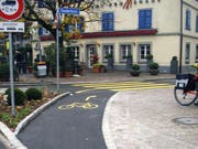 Die Öffnung dieser Frauenfelder Einbahnstrasse für den Veloverkehr wird gelobt. (Bild: Bikeable)