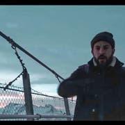 Ein Screenshot aus dem Musikvideo: Bligg auf dem Titlis-Cliff-Walk, einer Hängebrücke auf 3020 Meter über Meer. (Bild: Mathias Frei)