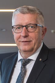 Kurt Sidler, Präsident Raiffeisenverband Luzern, Nidwalden, Obwalden. (Bild: Dominik Wunderli, Luzern, 10. April 2017)
