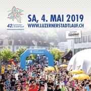 Titelbild der Beilage zum 42. Luzerner Stadtlauf. (Bild: Luzerner Zeitung)