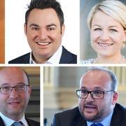 Jens Jäger, Raphael Frei, Christine Bolt (oben v.l.), Jigme Shitsetsang, Beat Tinner, Martin Stöckling (unten v.l.).