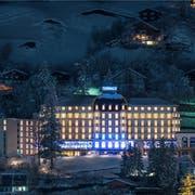 Auch die Umzonung fürs Hotel Terrace in Engelberg ist ein offener Punkt. (Bild: Titlis Bahnen)