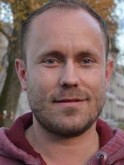 Tobias Funke, Initiant Eisfeld Heiden. Bild: Gwendoline Flückiger
