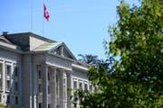Hier tagt das Bundesgericht in Lausanne. (Bild: Laurent Gillieron/Keystone)
