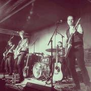 Einfach Rockmusik: Alex Good (3.v.r.) und Band. (Bild: PD)