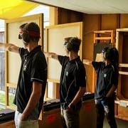 Pistolenschützen am Jugendtag des Thurgauer Kantonalschützenfestes 2018 auf der Sirnacher Hochwacht. (Bild: PD)