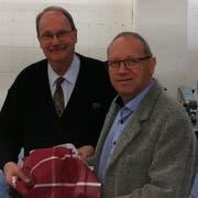 Jost Walraf (links) und Hans Hauser. (Bild: PD)