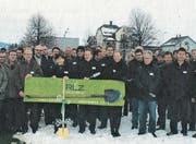 Vor zehn Jahren, am 4. Dezember 2008, erfolgte der Spatenstich für das Regionale Leistungszentrum, RLZO, in Wil. (Bild: PD)