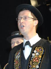 Nationalrat Peter Keller ist Mitglied der Stanser Jodlerbuebe. (Bild: Richard Greuter)