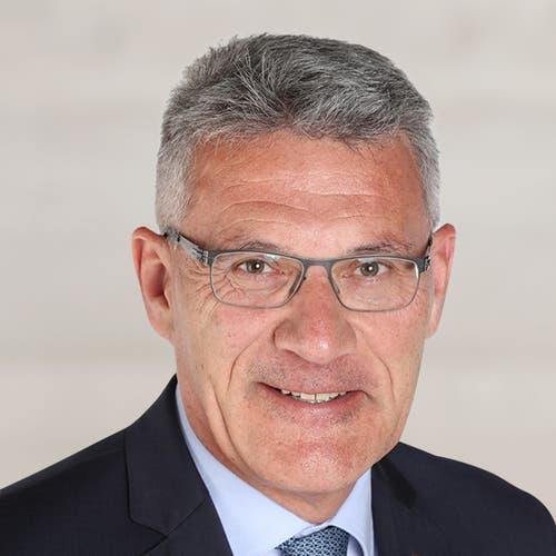 Schwyzer Nationalrat Pirmin Schwander, seit 2003, SVP, wiedergewählt