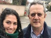 Anna Forn Masvidal und ihr Vater Joaquim Forn, der Innenminister der Regionalregierung und zuvor stellvertretender Bürgermeister in Barcelona war. (Bild: PD)