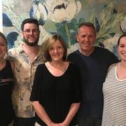Die Wurzeln dieser Familie aus Australien reichen bis ins Obertoggenburg: Elisabeth, Patrick, Louise, Urs und Charlotte Egli. (Bild: PD)