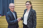 Erwin Spring übergibt das Schulpräsidium bald in die Hände seiner Nachfolgerin Christina Burgermeister. (Bild: Samuel Koch)