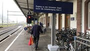 Einkaufstouristen, die mit dem Zug nach Waldshut kommen, können ihre Ausfuhrscheine am Bahnhofszoll abstempeln. (Bild: Juliane Schlichter/Südkurier)
