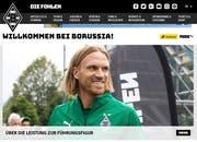 So wurde Michael Lang am Dienstag auf der Website von Borussia Mönchengladbach den Anhängern präsentiert. (Bild: Screenshot www.borussia.de)