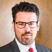 """Michael Steiner, CEO der Acrevis-Bank, sagt: """"Dass Valiant nach St.Gallen kommt, ist ein gutes Zeichen."""" (Bild: Benjamin Manser)"""