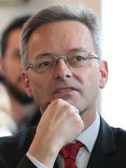Mobilitätsplaner Conrad Wagner. (Bild Roger Zbinden (Stans, 28.Februar 2016))