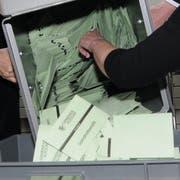 Das Berechnen der Wahlresultate wird im Februar wieder Thema im Urner Landrat. (Bild: Urs Flüeler/Keystone (Altdorf, 28. Februar 2016)
