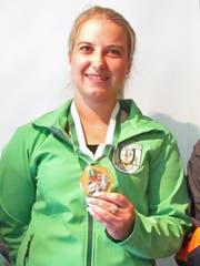 Martina Kaiser sicherte sich gleich zwei Medaillen. (Bild: PD)