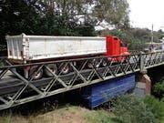 Stresstest der Diamond-Creek-Brücke in Australien.