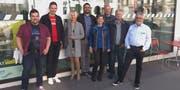 Die künftige Fraktion der Freien Liste: Urs Wolfender, Beni Merk, Veronika Färber, Daniel Moos, Anna Rink, Guido Leutenegger, Xaver Dahinden und Jost Rüegg. (Bild: PD)