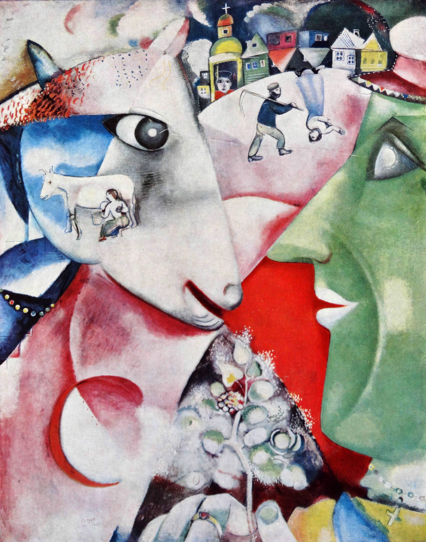Ein Dorf Steht Kopf Marc Chagall In Unserer Meisterwerk Serie St Galler Tagblatt