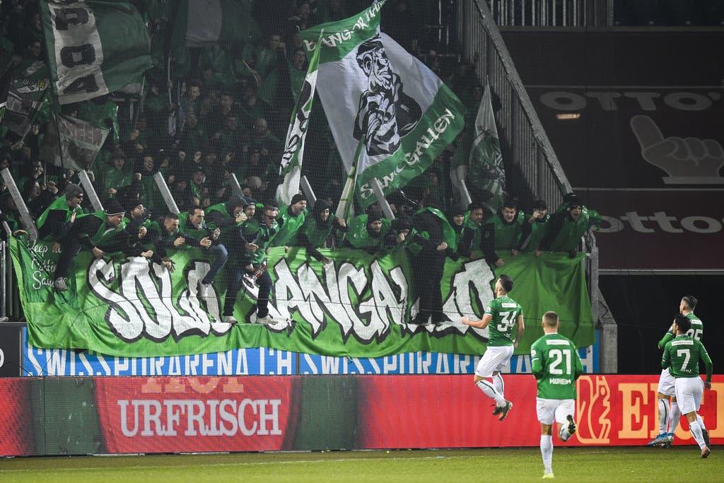 Vier Tore gegen den Luzern-Fluch: Nach zehn Pleiten in Serie bezwingt der FC St.Gallen die Innerschweizer mit 4:1 | St.Galler Tagblatt