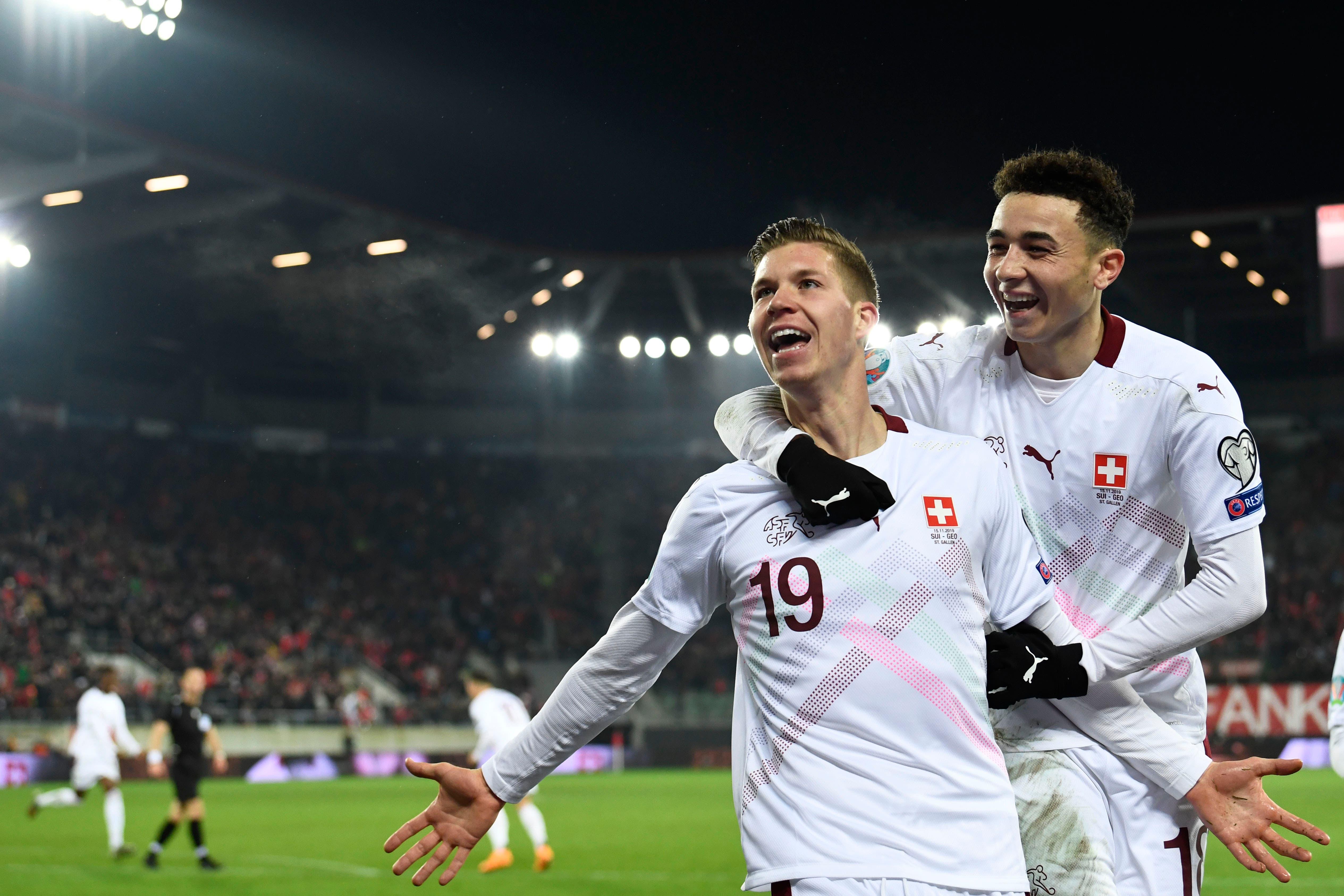 Die Schweizer Fussballer kehren vor der EM im nächsten Sommer nach St.Gallen zurück   St.Galler Tagblatt