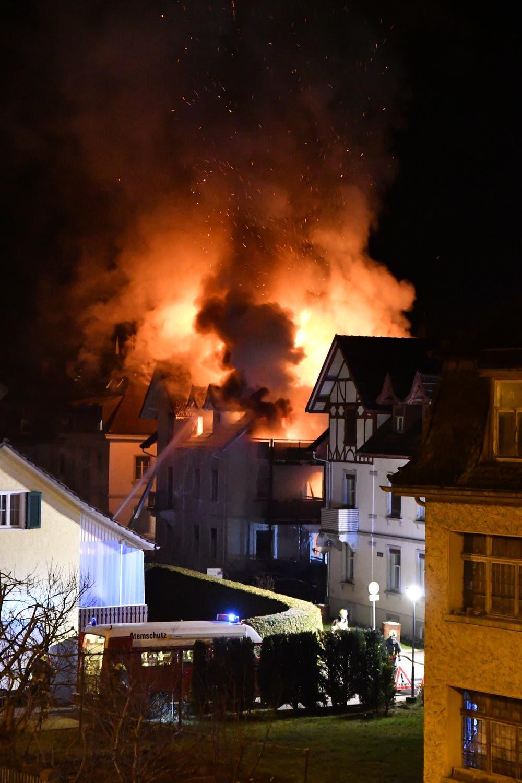 BRAND IN ARBON: «Sind dankbar, dass wir überlebt haben» | St.Galler ...