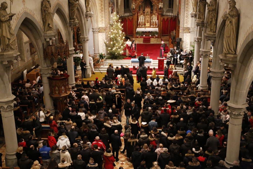 Serbisch Frohe Weihnachten.Serbisch Orthodox Weihnachten
