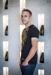 Wein ist Michael Burkharts grosse Leidenschaft