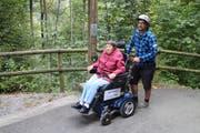 Das zweite Ranft-Mobil ermöglicht noch mehr Personen den Weg zu den Ranft-Kapellen. (Bild: PD)