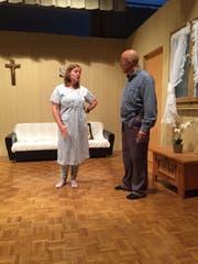 Eine Szene aus dem Theaterstück «Em Schinder-Joggi sin prämierte Muni». (Bild: PD)