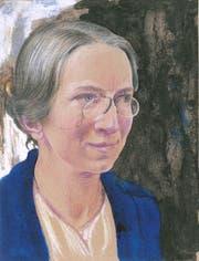 Ein Selbstporträt der Pionierin Hedwig Scherrer (1878–1940) aus Kirchberg. (Bild: PD)