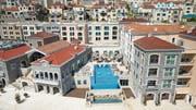 Läuft gemäss dem Orascom-Chef Bichara gut: das Resort in Montenegro. (Bild: PD Orascom)