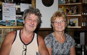 20 Jahre auf dem «Rossbode»: Willi Christen und Albina Bürge.