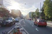 Die Luzernerstrasse im Zentrum von Kriens soll fussgängerfreundlicher werden. (Bild: PD)