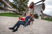 Gemeinderätin Helen Schurtenberger setzt sich in Menznau für Kinder und Jugendliche ein. Bild: Pius Amrein (Menznau, 9. Oktober 2018)