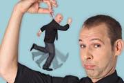 Tritt beim «Comedy Gschnätzlets» auf: Helge und das Udo. (Bild: PD)