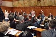 Aufgrund der Vernehmlassung ist anzunehmen, dass eine Kurswende vom Geheimhaltungsprinzip hin zum Öffentlichkeitsprinzip bei amtlichen Dokumenten bei der Beratung im Grossen Rat am 22. Oktober durchkommen wird. (Bild: Roger Fuchs)