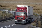 Ein Ceva-Lastwagen im Norden Englands. (Bild: PD)
