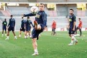 Xherdan Shaqiri: Bei Liverpool Ergänzungsspieler, für die Schweiz Eckpfeiler. (Bild: Ennio Leanza/Keystone (Brüssel, 11. Oktober 2018))