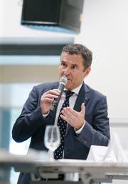 Zieht sich aus dem Kampf um das Stadtpräsidium zurück: André Wicki. (Bild: Stefan Kaiser (Zug, 4. September 2018))
