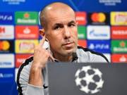 Nicht mehr Trainer der AS Monaco: der Portugiese Leonardo Jardim (Bild: KEYSTONE/AP/MARTIN MEISSNER)