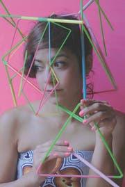 Olga Titus, hier als Teil eines Kunstwerks. (Bild: PD)