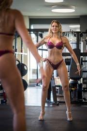Jasemin Topcu trainiert fünf bis sechsmal pro Woche. (Bild: Reto Martin)