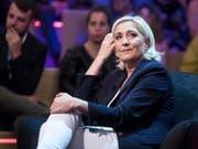 Die französische Justiz verschärft ihr Vorgehen gegen die Rechtspopulistin Marine Le Pen. (Bild: KEYSTONE/EPA ANSA/ANGELO CARCONI)