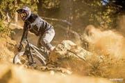 Tim Bratschi hat in der Gesamtwertung des IXS-Downhillcups den zweiten Schlussrang erreicht. (Bild: PD)