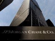 JPMorgan Chase ist weiter auf Kurs für Rekordgewinn. (Bild: KEYSTONE/EPA/JUSTIN LANE)