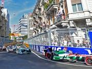 Was Zürich 2018 hatte, will Bern 2019: Die Stadtregierung hat eine Bewilligung für ein Formel-E-Rennen in der Bundeshauptstadt erteilt. (Bild: KEYSTONE/WALTER BIERI)
